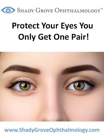 Protect Your Eyes You Only Get One Pair!