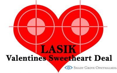 February Valentines LASIK Sweetheart Deal